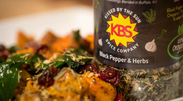 Roasted Black Pepper Butternut Squash | Kissed by the Sun Spices