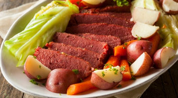 Instant Pot Seasoned Salt and Black Pepper Corn Beef & Cabbage