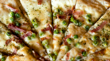 Pea and Prosciutto Pizza Recipe