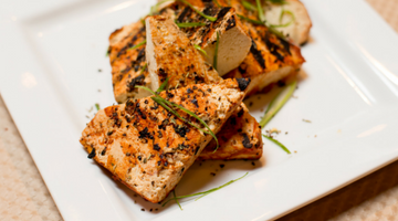 Grilled BBQ Tofu | Kissed by the Sun