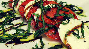 Classic Caprese Salad | Kissed by the Sun