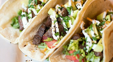 Sunny Steak Tacos | Kissed by the Sun