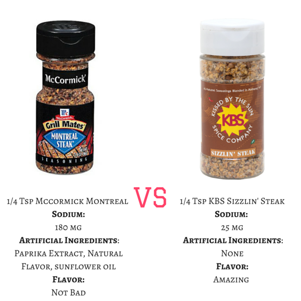 low sodium organic spice blends