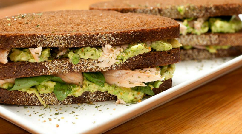 salmon avocado club recipe organic seasoning