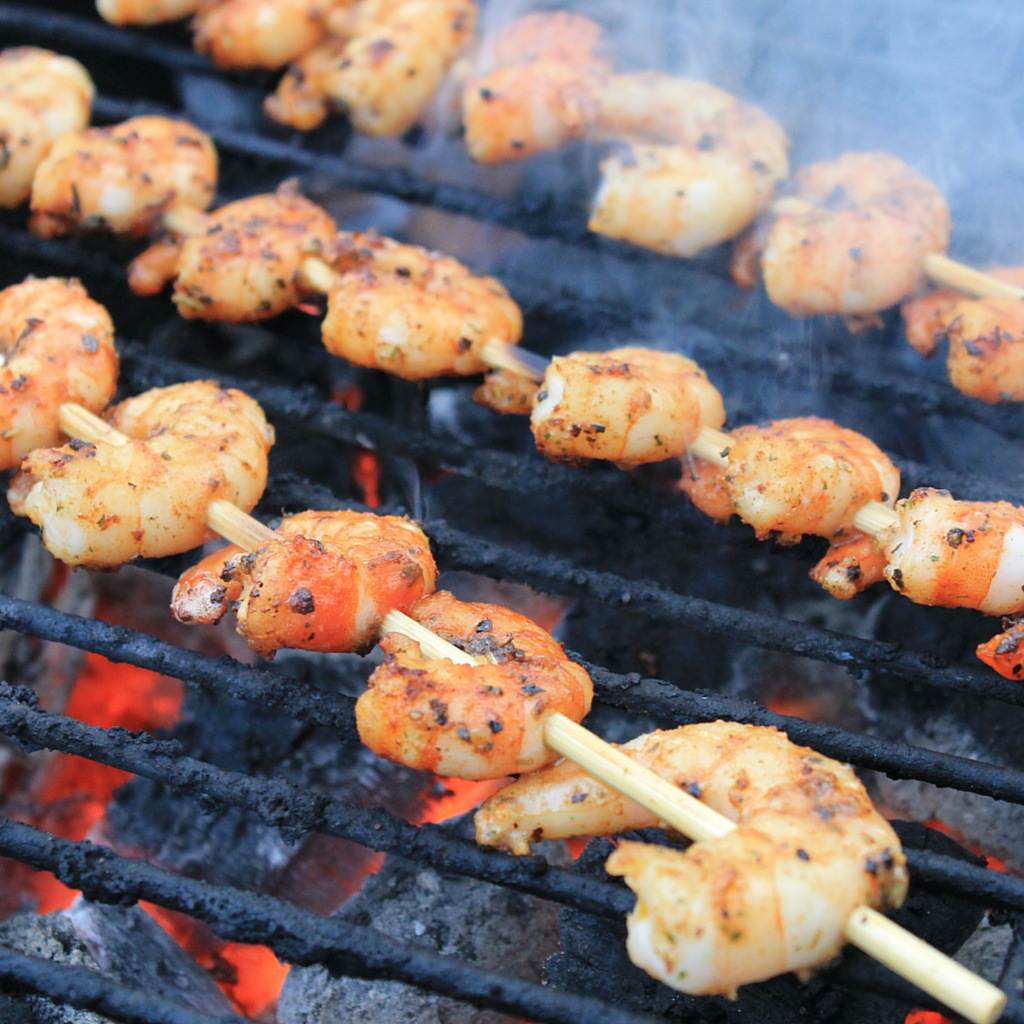 salt free shrimp kabob recipe