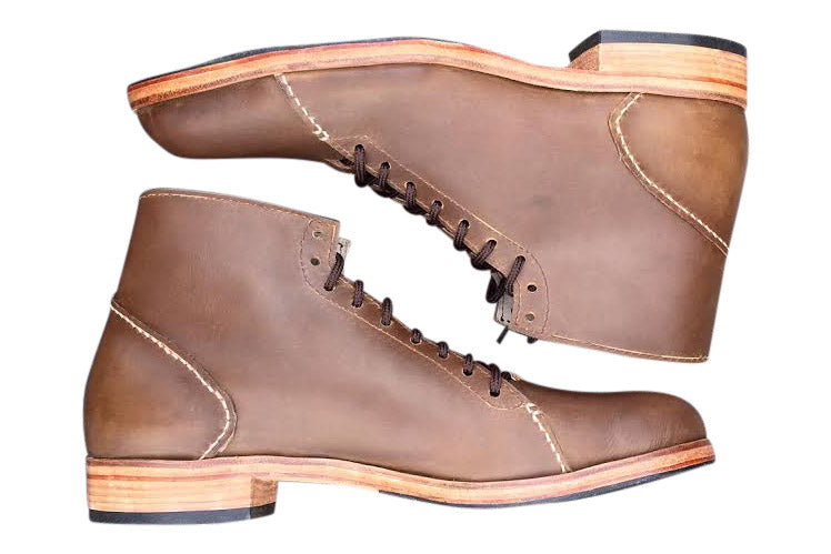 The Asher Boot Light Brown