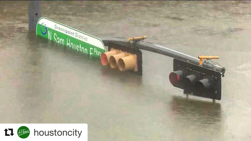 Flooding in Houston during Harvey