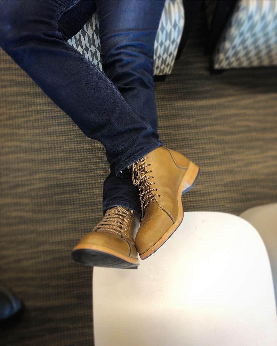 Asher Boots Light Brown