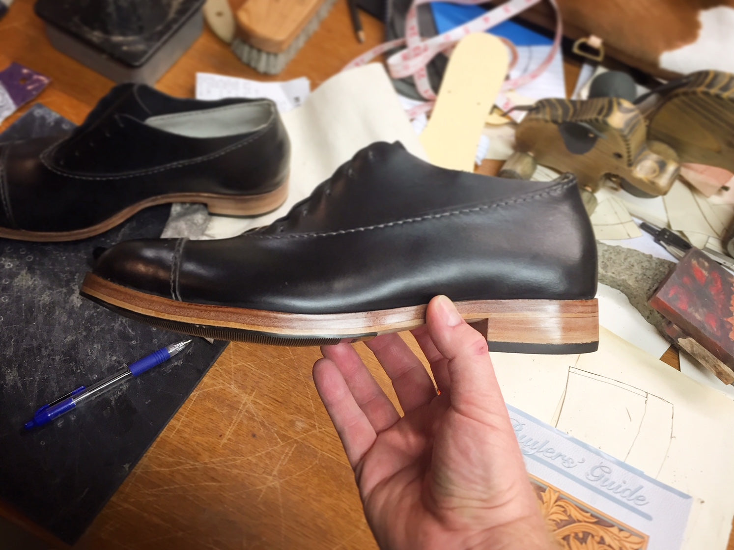 Buy Shoes With Leather Soles