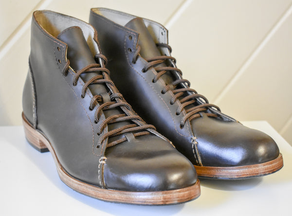 The Asher Boot: Dark Brown