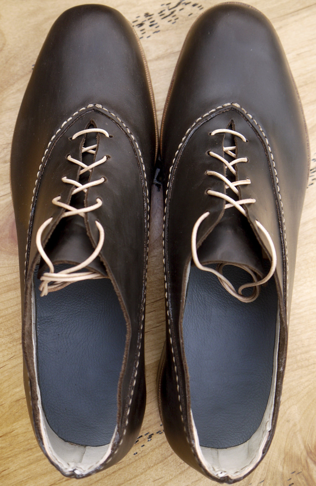 The Premiere Oxfords: Dark Brown
