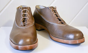 The Premiere Oxfords: Light Brown