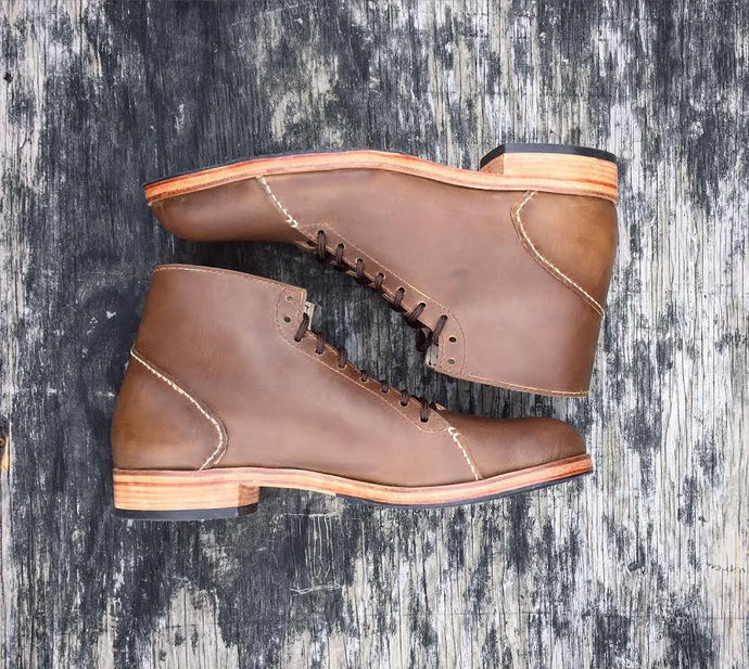 The Asher Boots in Light Brown