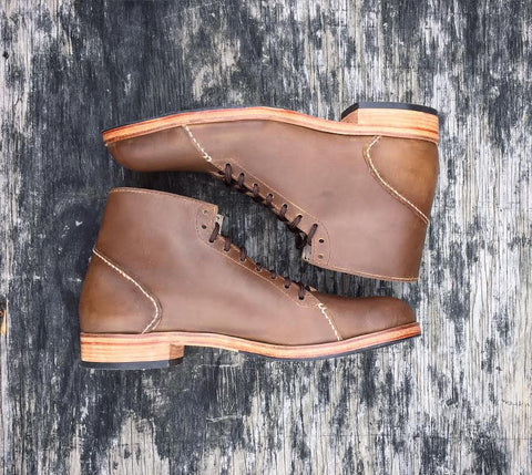 The Asher Boot: Light Brown