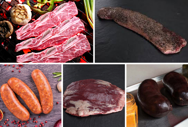 SPECIAL CUTS PAKET- SKIRT STEAK (Entrana)+ FLANK STEAK (Vacio) + SHORT RIBS (Tira de Asado) 3750 GRAMMS