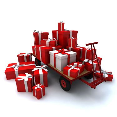 Christmas Online Orders Deliveries 2017