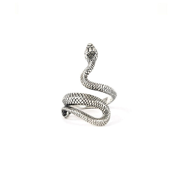 Serge Denimes Silver Snake Ring - Born Store