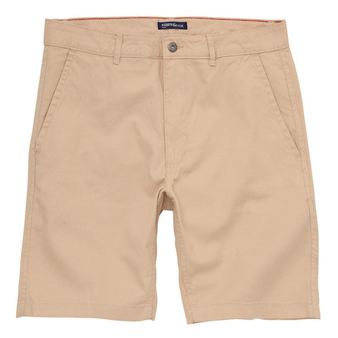 Asquith & Fox Chino Shorts - Natural