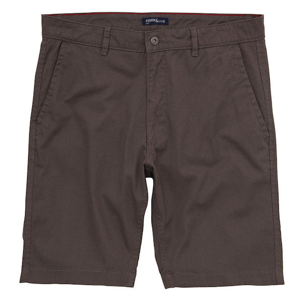 Asquith & Fox Chino Shorts - Slate - Born Store