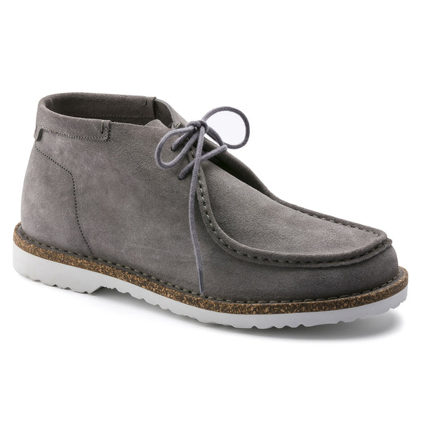 Birkenstock Delano High Suede Leather Boot - Grey - Born Store
