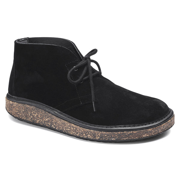Birkenstock Milton Suede Leather - Black