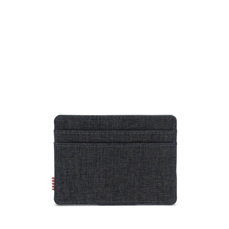 Herschel Charlie Wallet - Black Crosshatch - Born Store