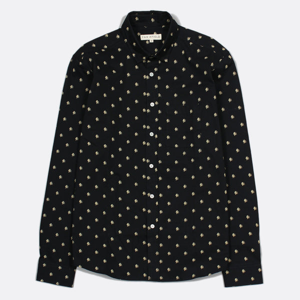Far Afield Cognito L/S Shirt - Hiker Black