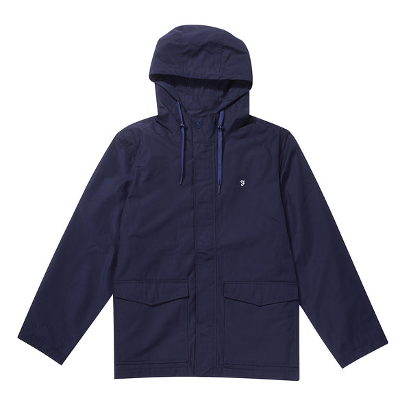 Farah Higgs Hooded Jacket - True Navy