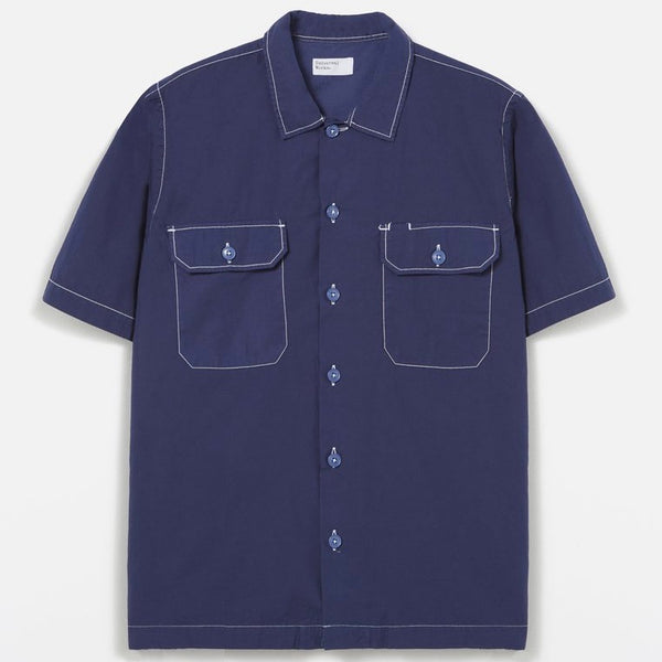 Universal Works Utility Shirt - Blueprint - Born Store