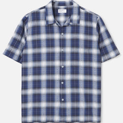 Universal Works Road Shirt - Waikiki Check - Born Store