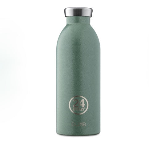 24 Bottles Clima 500ml - Moss Green Texture - Born Store