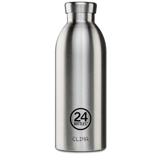 24 Bottles Clima 500ml - Steel - Born Store