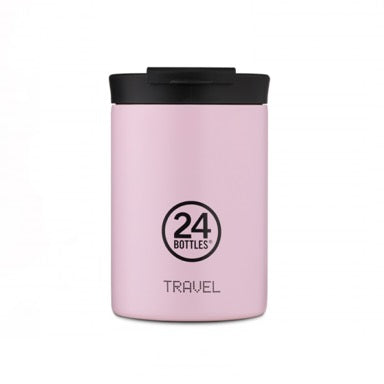 24 Bottles Travel Tumbler 350ml - Candy Pink - Born Store