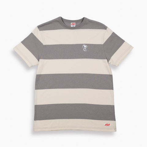 TSPTR Snoopy Border Tee - Grey Heather