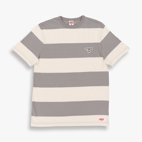 TSPTR Surfs Up Boarder Tee Shirt - Grey/White