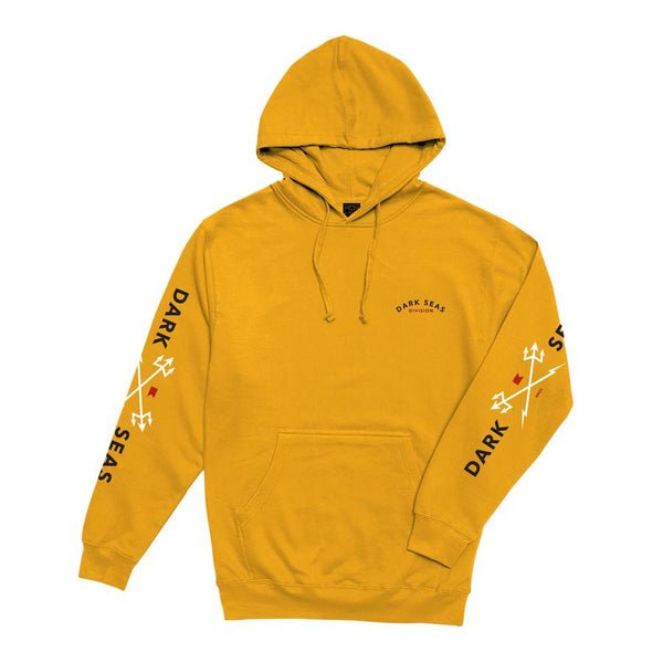 Dark Seas Headmaster Hooded Sweat - Gold