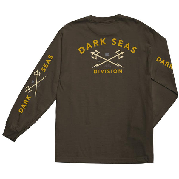 Dark Seas Headmaster L/S Tee Shirt - Coffee - Born Store