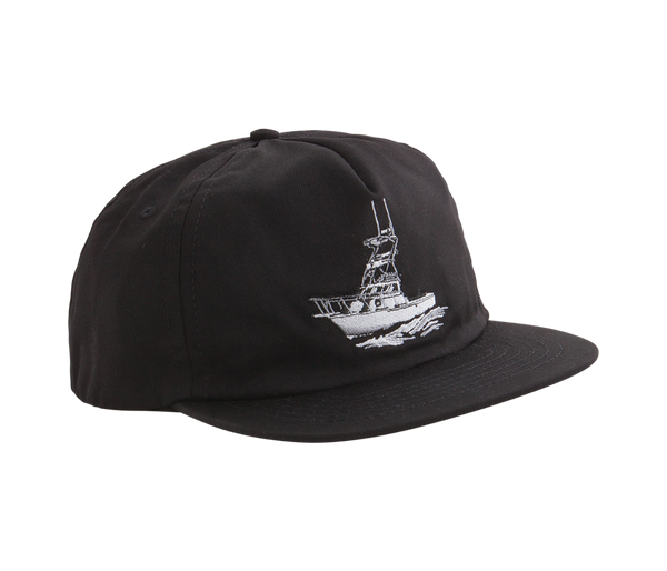 Dark Seas Broadside Cap - Black