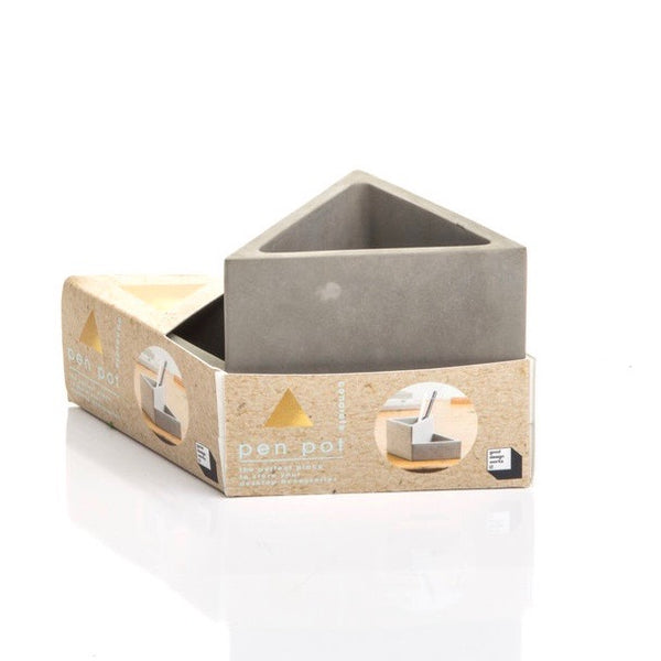 Concrete Pencil Pot - Born Store