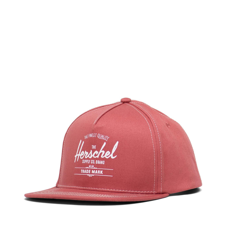 Herschel Supply Whaler Cap - Dusty Cedar/White