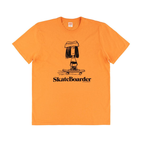 TSPTR Skateboarder Tee Shirt - Orange