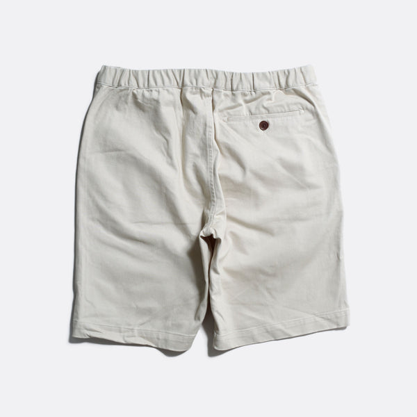 Far Afield Drawstring Shorts - Pumice Stone