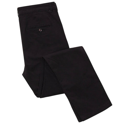 Asquith & Fox Slim Chino's - Black