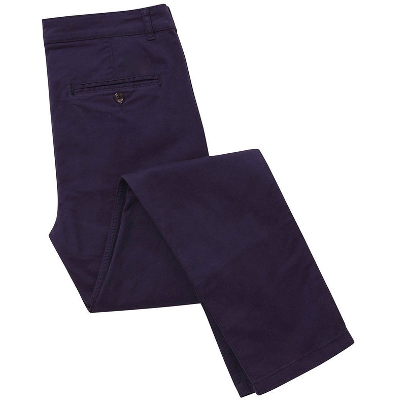 Asquith & Fox Slim Chino - Navy - Born Store