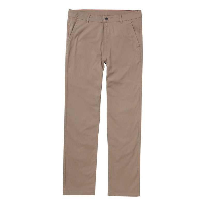 Asquith & Fox Slim Chino - Khaki - Born Store