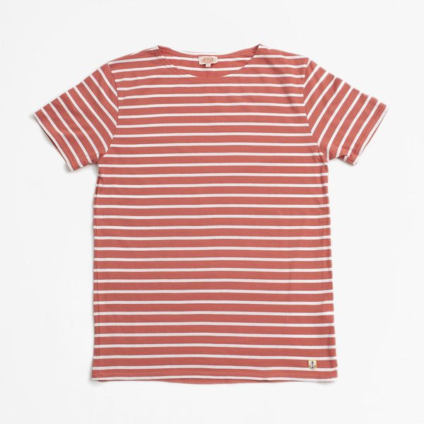 Armor Lux Big Sailor Tee Shirt - Rosewood