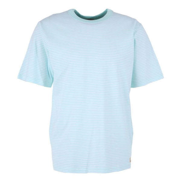 Armor Lux Heritage MOD Micro Stripe Tee Shirt - Light Mint Green
