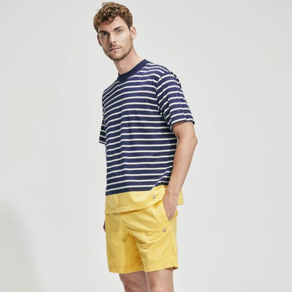 Armor Lux Heritage Cotton Shorts - Citrus Lemon