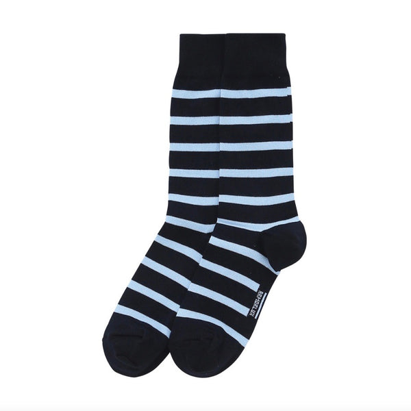 Armor Lux Striped Socks - Navy/Blue - Born Store