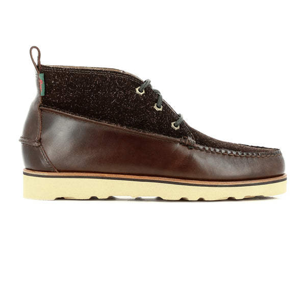 GH Bass & Co Camp Moc Ranger Mid - Choc Leather/Suede - Born Store
